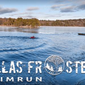 Frostbite swim run